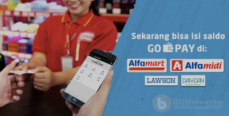 Cara Top Up Gopay di Supermarket